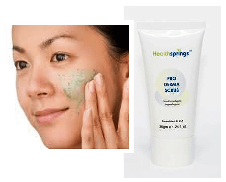 EXFOLIATE FOR CLEARER SKIN!