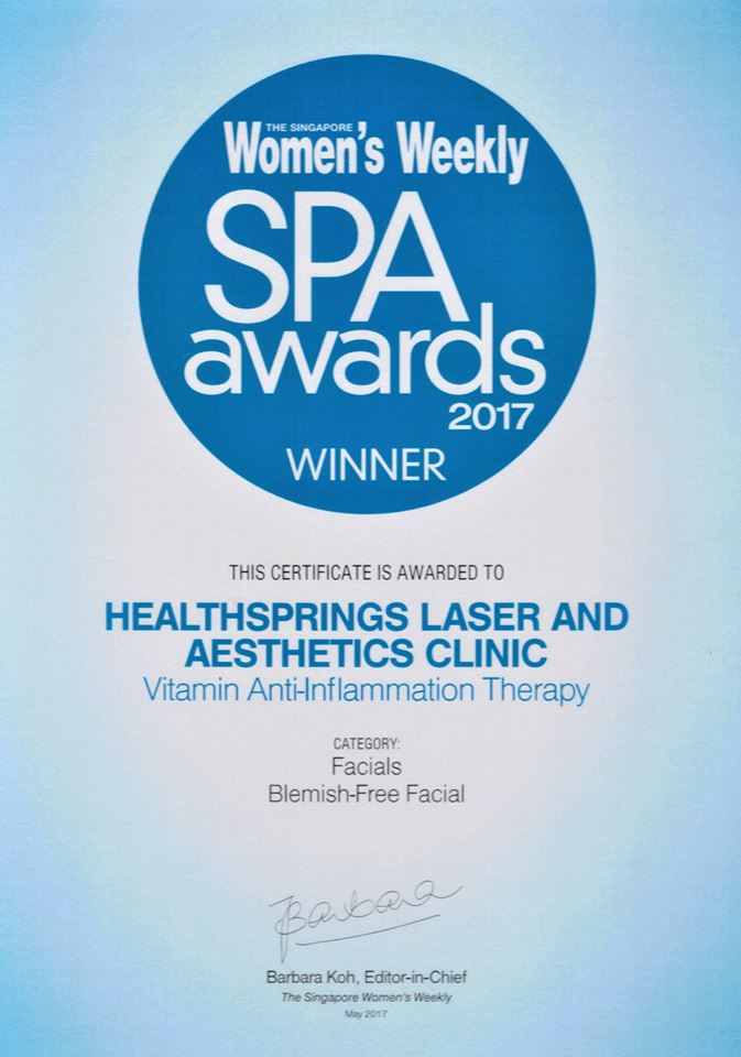 EXPERIENCE OUR AWARD WINNING MEDI-FACIAL VITAMIN ANTI-INFLAMMATORY THERAPY!