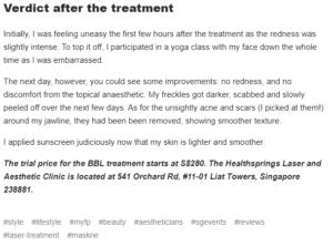 verdict after treatment